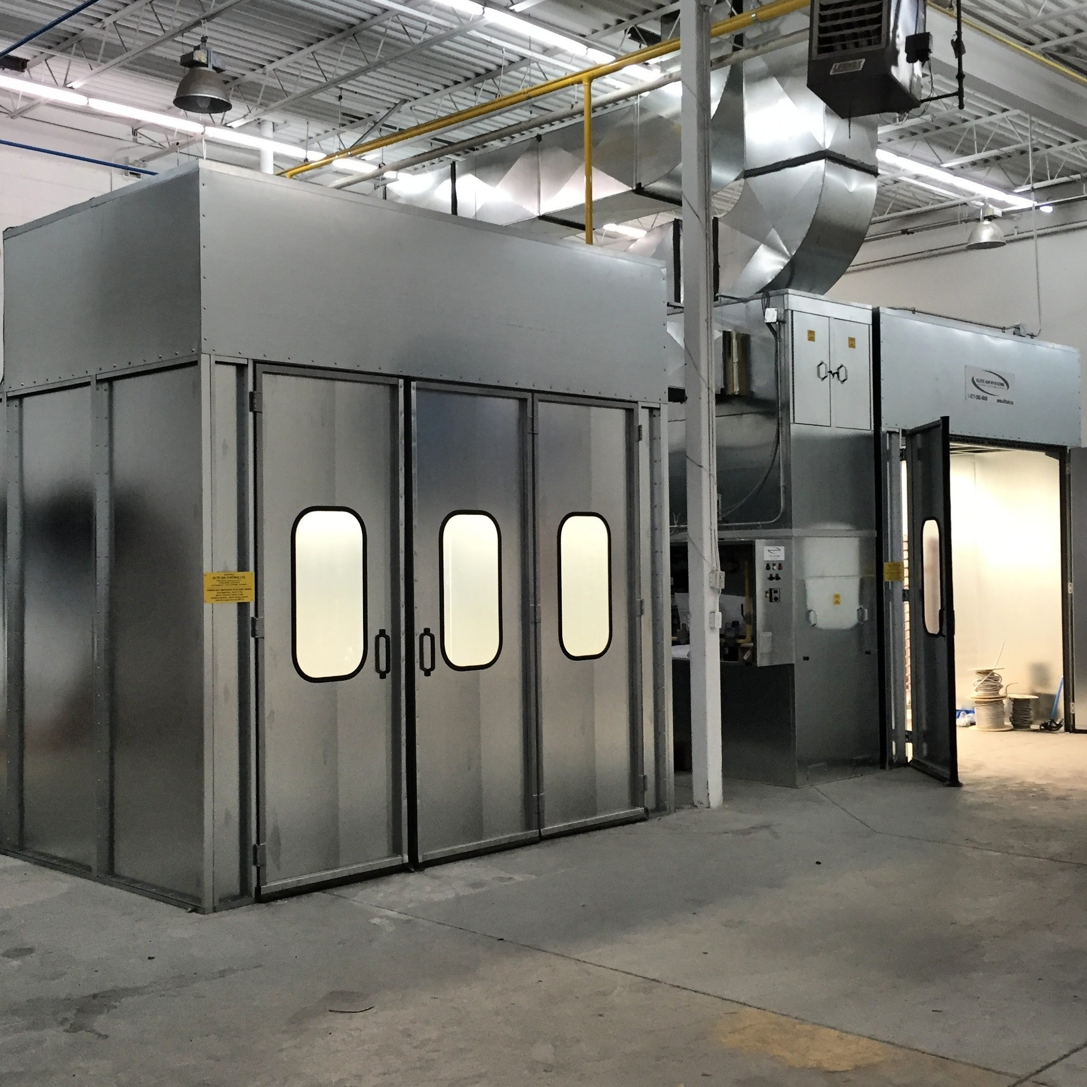 Fully Enclosed Spray Booths