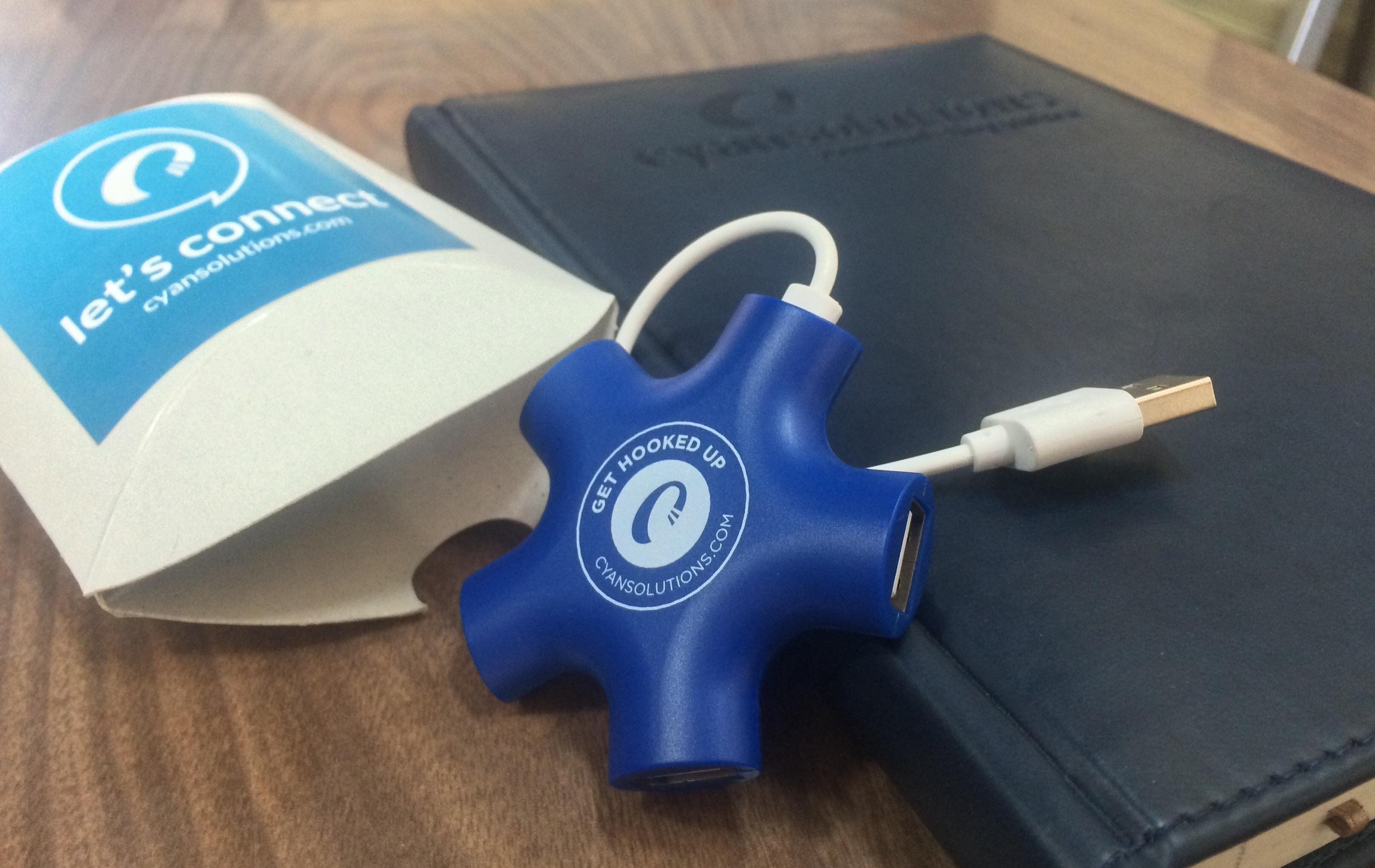 USB Charging Hub Promotional Product