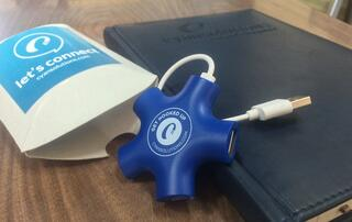 USB Charging Hub Promotional Product